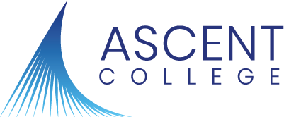Ascent College logo